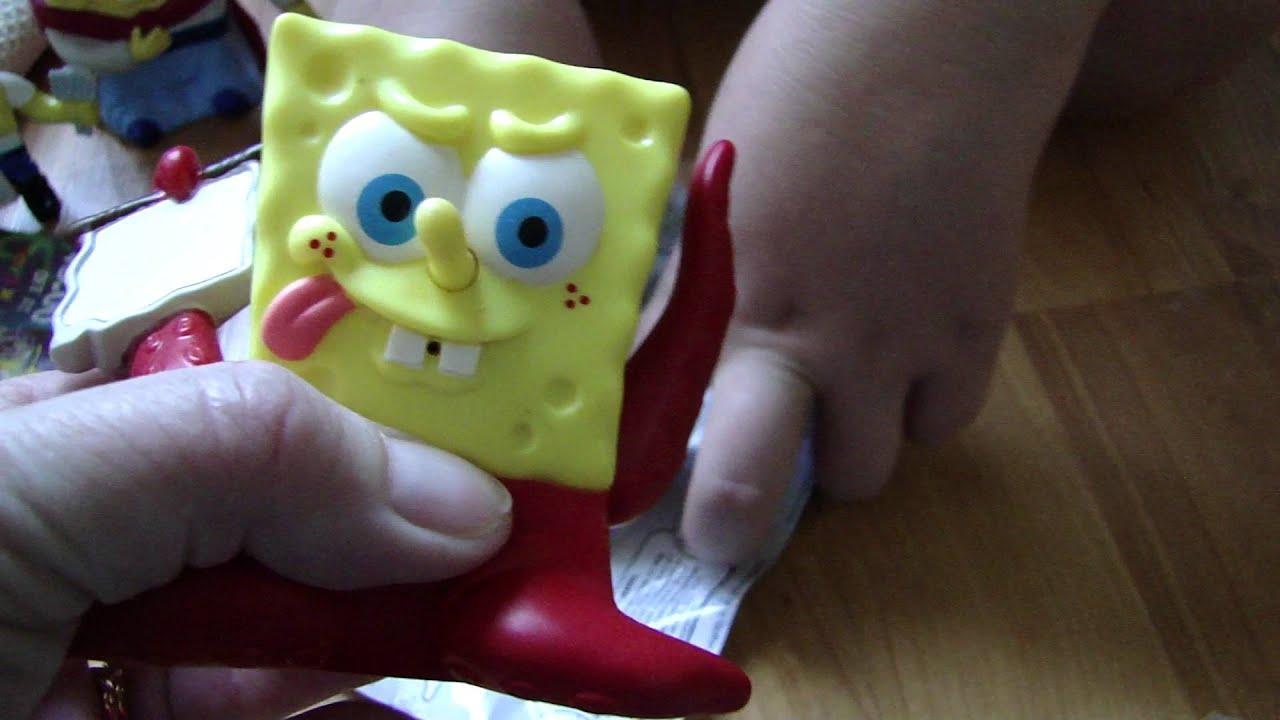 Burger King Spongebob Atlantis Squarepantis Kraken ...