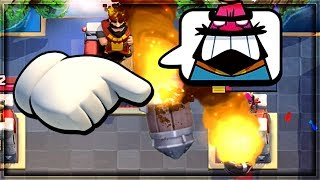 Clash Royale - ROCKET CYCLE! Big Trophy Push