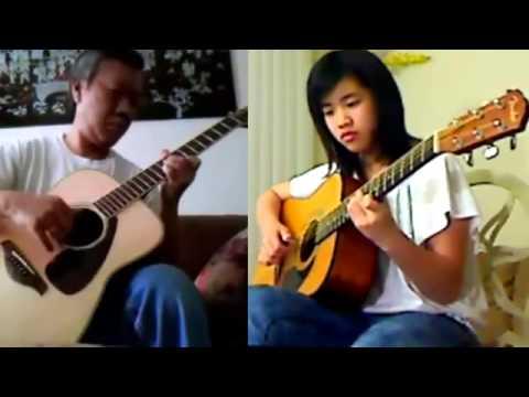 Riêng Một Góc Trời - Virginia Nguyen - Song Tấu Guitar