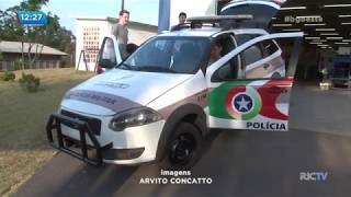 Estudantes criam modelo de viatura adaptada para a Polícia Militar