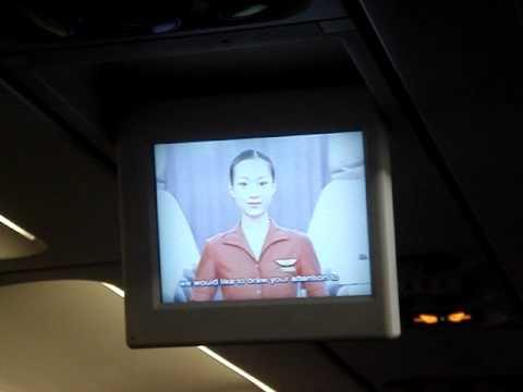 Air Macau Safety Video A319