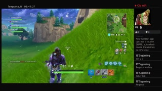 Live ON DECOUVRE THE PASSE 4 (season) Ft.MJG Battle Royal Fortnite