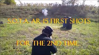 First S.O.T.A. AR-15 shots for the 2nd time