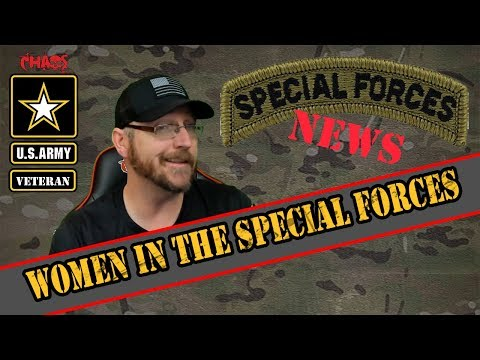 The First Women In The Special Forces And Army Greens Update | Army News
