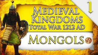 GOLDEN HORDE! Medieval Kingdoms Total War 1212 AD: Mongol Campaign Gameplay #1