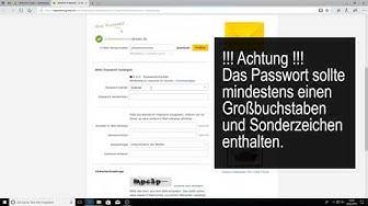 registrieren bei web.de, E-Mail anlegen bei Web.de