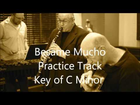 Besame Mucho   Practice Track in C Minor