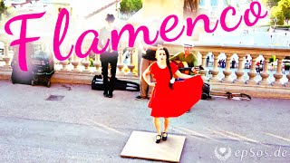 Female Flamenco Dance in Barcelona(Free video about Flamenco dance. This free video was created for you by http://epsos.de and can be used for free under the creative commons license with the ..., 2015-09-28T11:16:04.000Z)