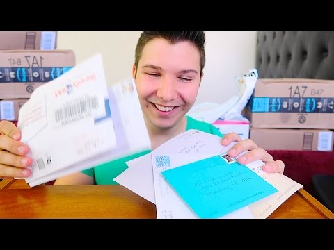 UNBOXING MY BIRTHDAY PRESENTS • Mail Haul