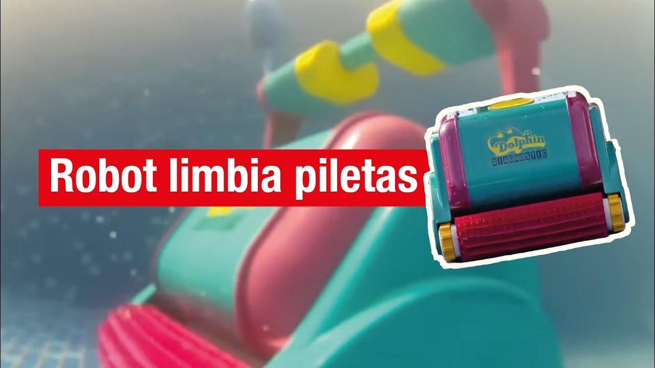 Robot limpia piscinas dolphin youtube for Robot limpia piscina
