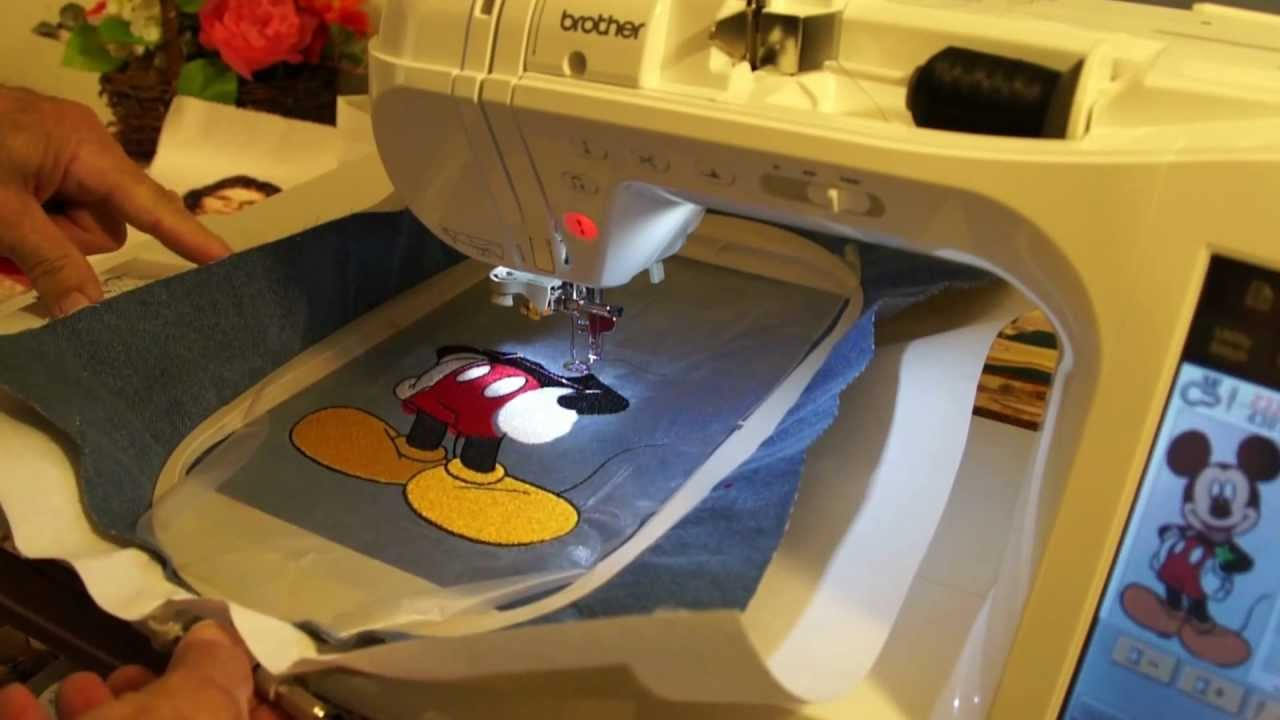 Download Brother embroidery. Innov-is 2800D demo # 8.