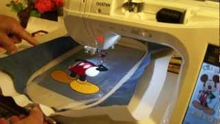 Brother embroidery. Innov-is 2800D demo # 8.