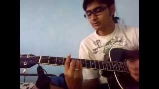 """Saajna"" - Falak Shabir (I Me aur Main) Guitar Lesson by Mykee"