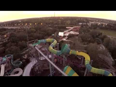 Time-Lapse: Colossal Curl - Construction | Adventure Island Tampa FL
