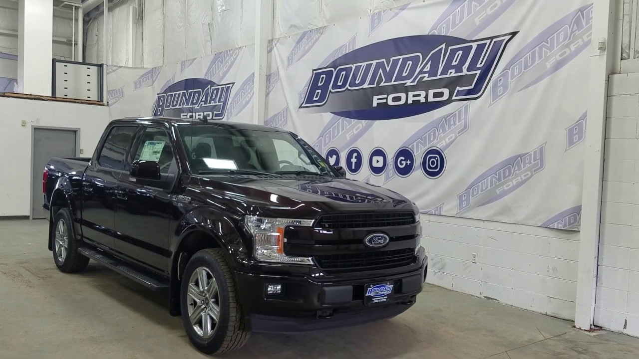 2020 Ford F 150 2 7 Ecoboost Review.2019 Ford F 150 Lariat Sport 501a W 2 7l Ecoboost Leather Moon Roof Overview Boundary Ford
