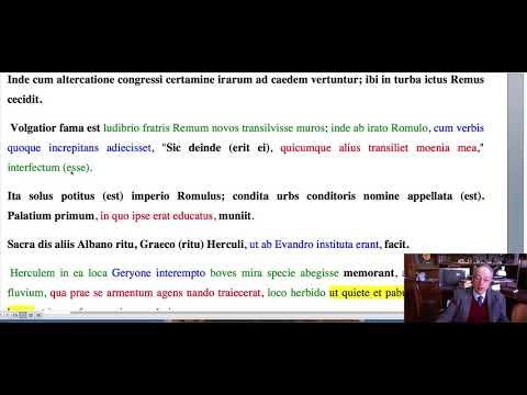 Ab Urbe Condita, I, 7, Tito Livio:  Fondazione di Roma e uccisione di Remo