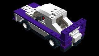 как сделать FORD mustang 67 года из лего в lego digital designer!