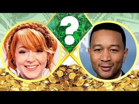 WHO'S RICHER? - Lindsey Stirling or John Legend? - Net Worth Revealed! (2017)