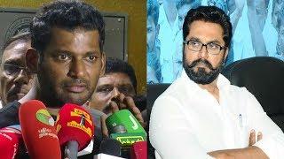 சரத்குமாருக்கு விஷால் பதிலடி  | Vishal Latest Speech | Producer Council Issue