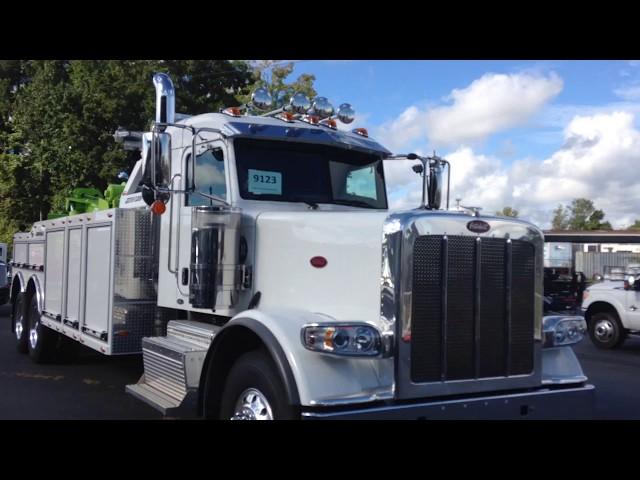 2017 Peterbilt 389 Jerr Dan  35 ton Wrecker Tow & Recovery Truck