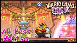 Wario Land Shake it All Bosses