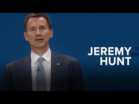 Jeremy Hunt: Speech to Conservative Party Conference 2016