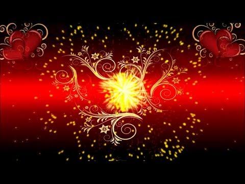 Видеофон!!! Праздничный видеофон Очарование любви - футаж!!!