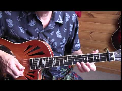 Fingerpicking Blues Lesson - Bo Carter -Your Biscuits Are Big Enough For Me