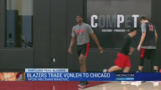 Blazers trade Noah Vonleh to Chicago
