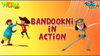 Bandookni Ka ACTION - Chacha Bhatija Funny Videos and Compilations - 3D Animation Cartoon for Kids