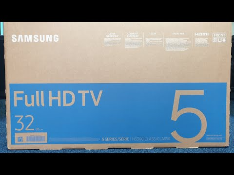 Samsung 32N5300 Unboxing And Setup