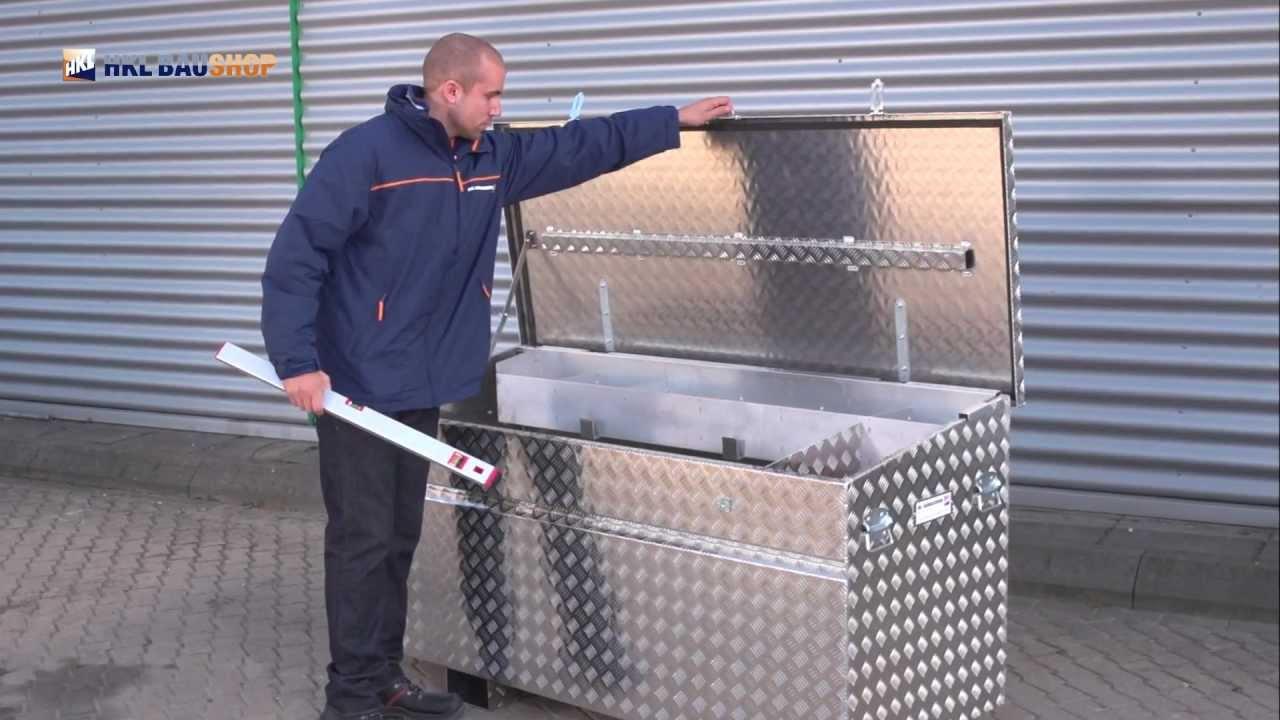 aluminium werkzeugkiste f r transporter die clevere