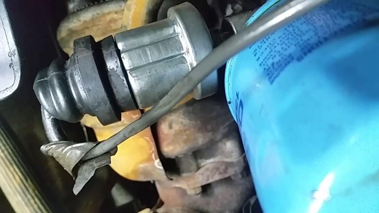 nissan 300zx z32 how to change a oil pressure sending unit [ 1280 x 720 Pixel ]