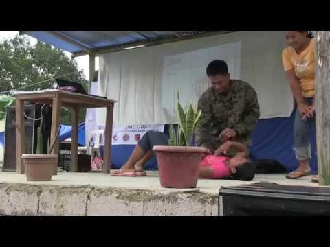 Philippines and US Marines Life Saver Training  Medical and Dental Services