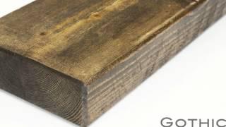 6x2 Rustic floating shelf rustic
