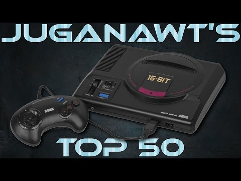 Top 50 Sega Megadrive / Genesis Games of all Time (in HD)