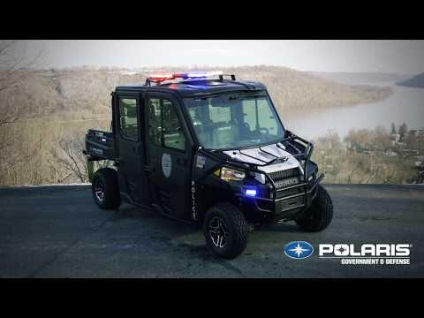 Introducing the All-New Polaris® Public Safety Vehicles | Polaris Government & Defense