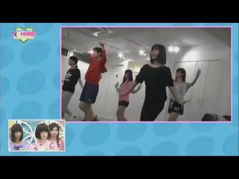 「コロムビアアイドル育成バラエティ 14☆少女奮闘記!」 seedreamダンスレッスン