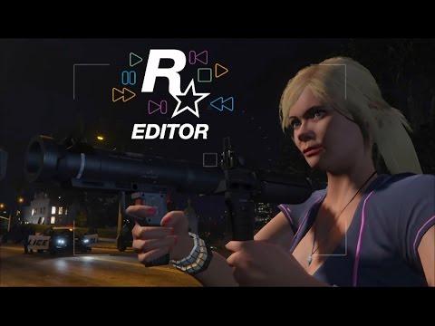 GTA V - Rockstar Editor on Console (PS4)