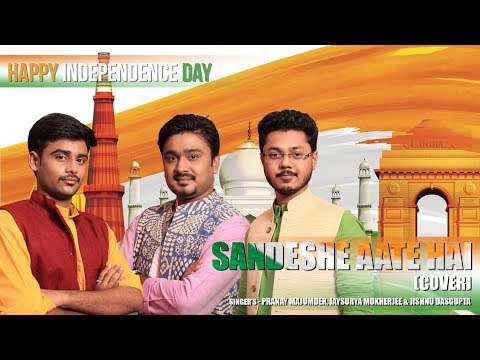 Sandese Aate Hai Cover   Independence Day Special   Tribute to Indian Army   Best Patriotic Song.