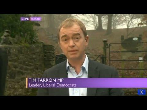 "Tim Farron: May's ""waving the white flag"" over single market membership"