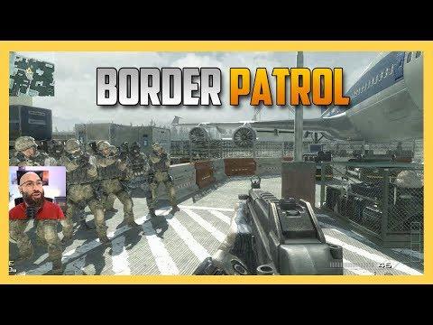 Border Patrol in Modern Warfare 3!  