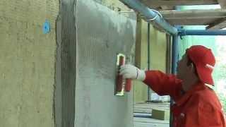 Монтаж фасадного утеплителя Rockwool под штукатурку(Для утепления стен легким штукатурным методом применяется утеплитель Rockwool - Фасрок, Фасрок ЛЛ, Фронтрок..., 2014-04-17T13:41:54.000Z)