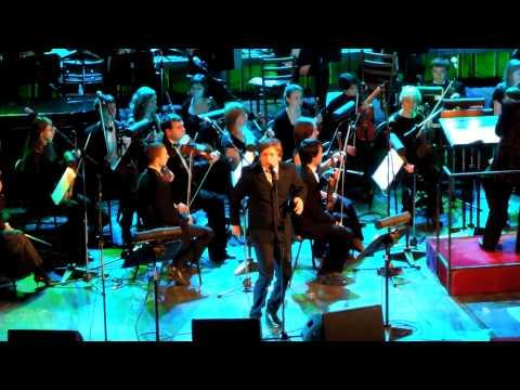 Живой концерт Би-2 с симфоническим оркестром