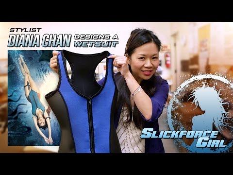 Designing Wetsuits for SlickforceGirl