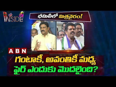 Reasons behind Ganta Srinivasa Rao and Avanthi Srinivas Clashes | Inside | ABN Telugu