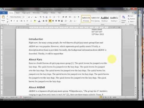 introduction to comparison and contrast essay