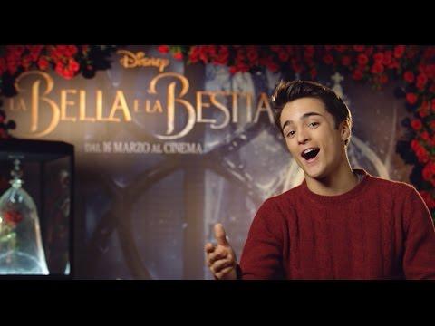 """Leonardo Cecchi di Alex & Co. canta """"La Bella e la Bestia"""""""