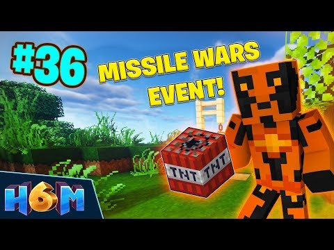 MISSILE WARS EVENT! - How To Minecraft #36! (Season 6)