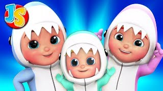 Baby Shark Song | Wheels On The Bus | Finger Family | Children\'s Nursery Rhymes & Kids Songs
